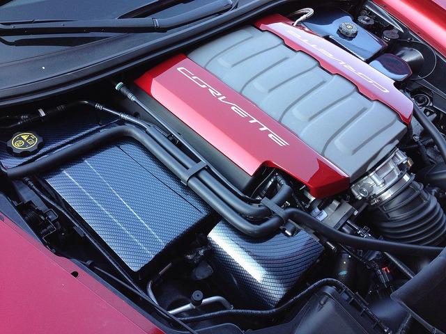 c7 corvette carbon fiber under hood package