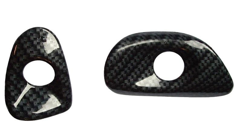 C6 Custom Door Button Bezel Covers