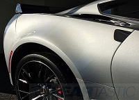Z06 Cleartastic Invisible  Rear Fender Flare Paint Protection