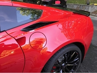 Cleartastic® Grand Sport, Z06 Invisible  Rear Fender Flare Paint Protection