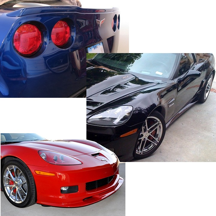 05-13 Corvette ZR1 Style Body Kit - GM Colors