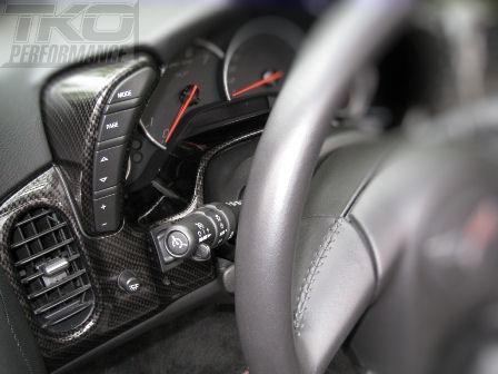 C6 Corvette Custom Gauge Cluster Bezel