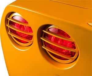 C6 Real Taillight Louvers