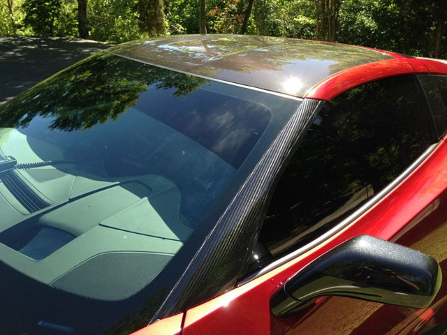 2014-19  Carbon Fiber A-Pillar Trims (Available in GM Matching Carbon & Tint)