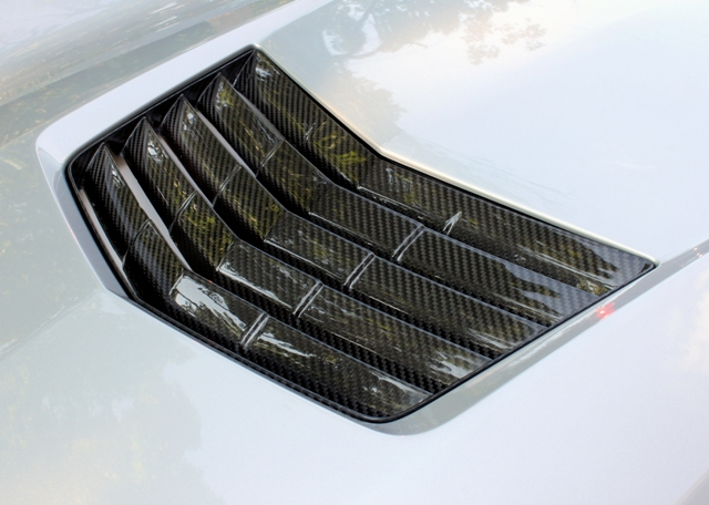 GS & Stingray Carbon Fiber Hood Vent- (Available in GM Matching Carbon & Tint)