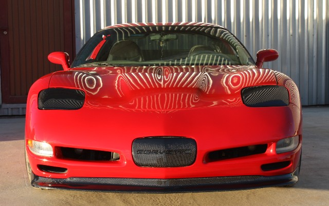 C5 Corvette Headlight Covers Carbon Fiber