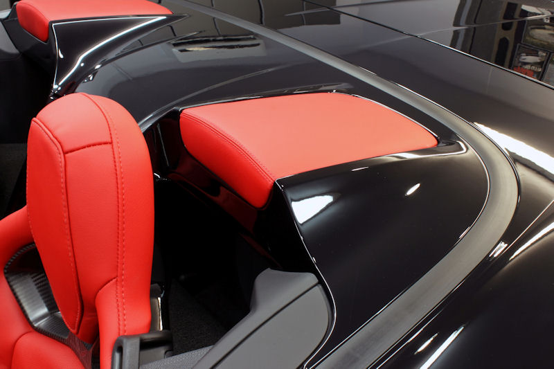 14-17 Stingray & Z06 Leather Tonneau Inserts - Pair