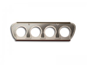 C7 Corvette Perforated  Exhaust Filler Panel  - w/NPP Dual Mode