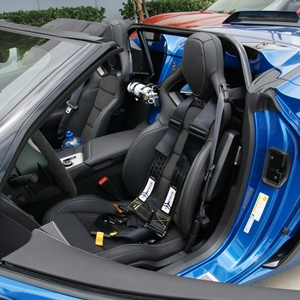 15-16 C7 Corvette Z06 4 pt. Roll Bar - NHRA/SCCA/NASA Legal : Convertible