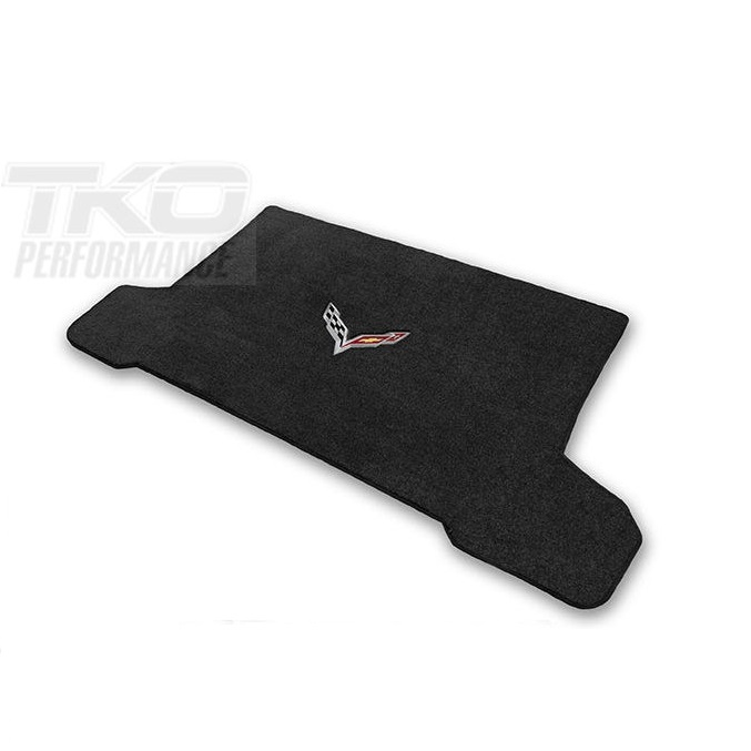 14-19 C7 Lloyds Ultimat Cargo Mat w/C7 Cross Flag Emblem -AVAILABLE IN COUPE & CONVERTIBLE