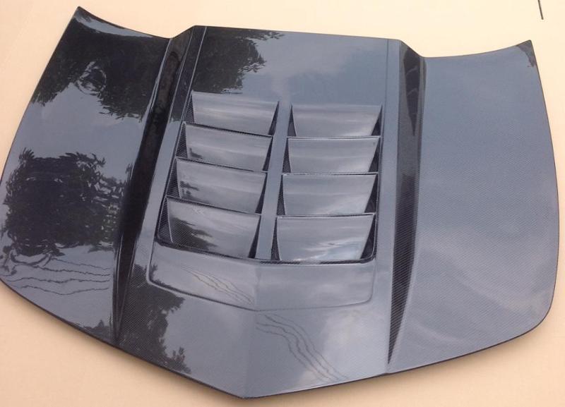 Camaro Carbon Fiber Front Wind Splitter