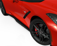 NEW! ACS Z06 Inspired Side Rockers For C7 Stingray Corvettes -Available Pre Painted