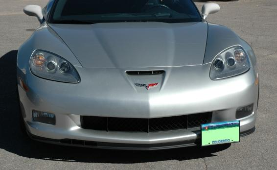 GS & Z06 Removable Front License Frame