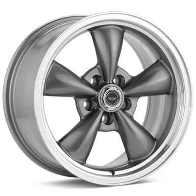 17x9  17x10.5 Torq-Thrust M / Anthracite w/Machine Lip - American Racing