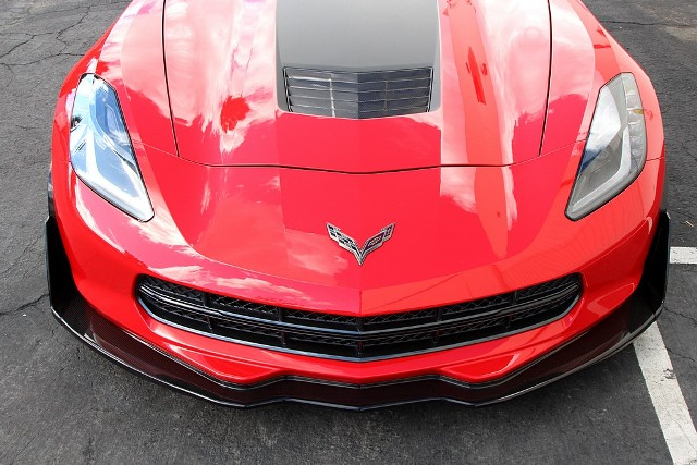 2014-19 C7 APR Track Pack Front Air Dam / Splitter - Carbon Fiber
