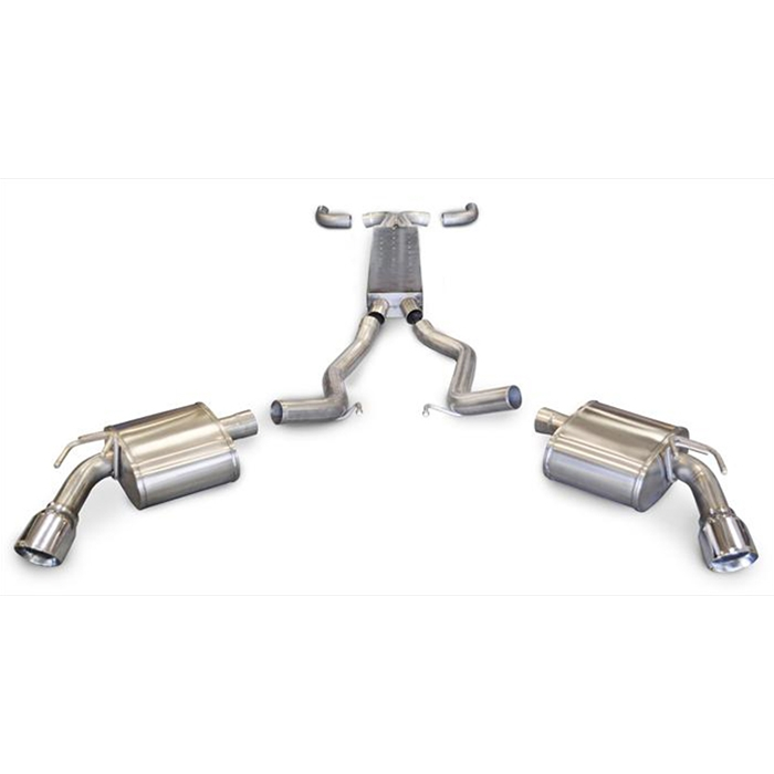 Corsa 2011-2014 Camaro Exhaust - 6.2L V8 SS with Dual 4.00
