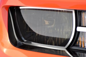 2010-2013 Camaro Headlight Restyling Package Tinted 6pc