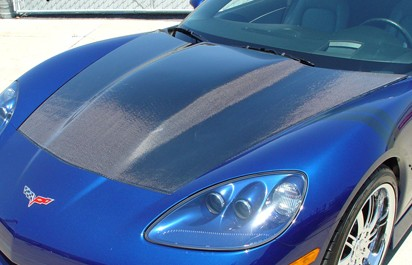 05-13 C6 Carbon Fiber Supercharger hood