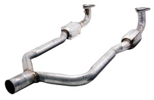 86-91 Front Exhaust Y-Pipe W/Resonators
