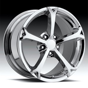 97-04 2010 Grand Sport Chrome Wheel Set (17x8.5