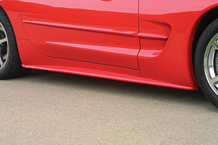 97-04 ACI Corvette Side Skirts