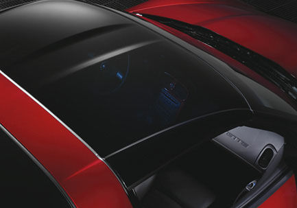 05-13 Corvette GM Transparent Replacement Roof