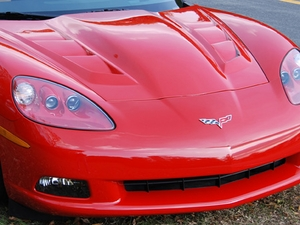 05-13 Custom Corvette Vented Hood (High Rise)
