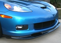 Carbon Fiber ZR1 Style Splitter - Fits C6, GS, Z06 & ZR1 - USA