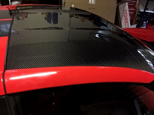 2014- 2018 Corvette Carbon Fiber Roof - Painted To Match / No core required