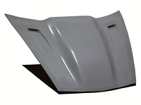 05-13 Corvette Violator Supercharger Hood- Fiberglass,