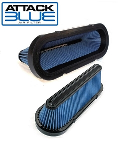 2006 to Early 2012 LS3, LS7 Attack Blue High Performance Filter