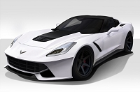 2014-2018 Chevrolet Corvette C7 Duraflex Gran Veloce Body Kit - 4 Piece