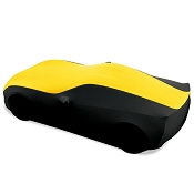 Corvette Ultraguard Stretch Satin Indoor Car Cover - Two Tone -  Available in 5 Colors - Stingray, Z51, GS, Z06