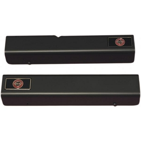 84-96 Emblem Sill Covers /Black
