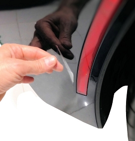 Cleartastic® Stingray Invisible Paint Protection Film -Behind Front & Rear Wheel Kit