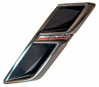 C7 Corvette Grand Sport  Carbon Fiber Fender Vent Trim  (Available in GM Matching Carbon & Tint)