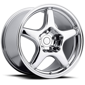 ZR-1 Corvette Wheel / Chrome - 17 x 9.5