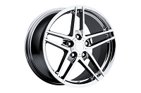 88-04 C6 Z06 Chrome Wheel Set (17x8.5