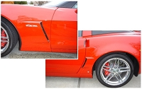 GS & Z06 Combo Kit #2 - Combines 2 kits -Better Price! (Cars with GM emblems on the brake duct)