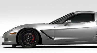 2005-2013 Corvette C6 Duraflex Stingray Z Front Fenders - 2 Piece