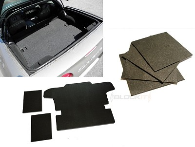 "97-04 Blockit™ ""Quick & Quiet"" Deadening Mats PLUS DeadMats - Save With This Combo Kit!"