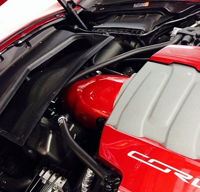C7 Corvette Painted Throttle Body Cover