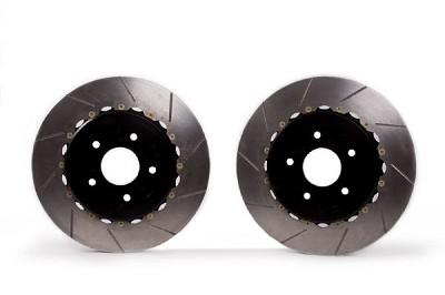 14-19 Z51 Rear 2pc Slotted Brake Rotors w Park Brake Provision