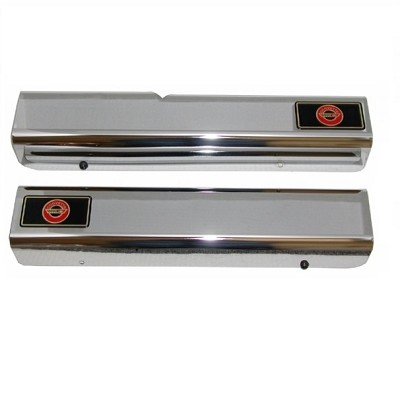 84-96 Emblem Sill Covers  /Chrome