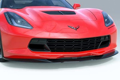 14-19 ACS Z06 Style Front Splitter (No Deflectors)