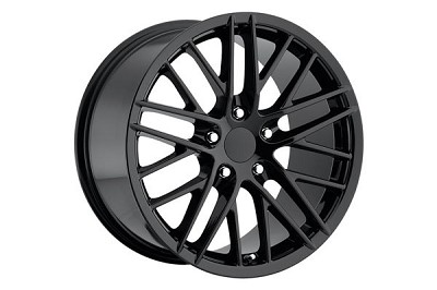 "88-04 ""09 ZR1"" Black Wheel Set (17x8.5""/18x9.5"")"