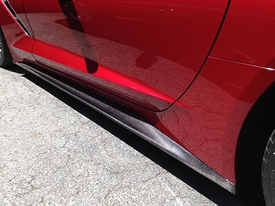 2014-17  Carbon Fiber Rocker Panel/Side Skirts