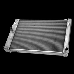 Camaro SS V8 Alum Radiator for vehicle w/built in OE style push connect oil cooler