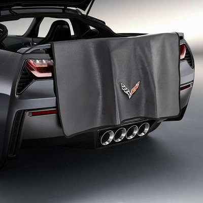 2014 C7 Corvette  GM Rear Bumper Protector