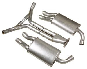 84-85 Factory Style Cat-Back Exhaust System